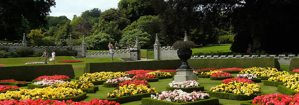The gardens at Lanhydrock