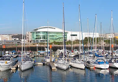 The National Marine Aquarium in Plymouth